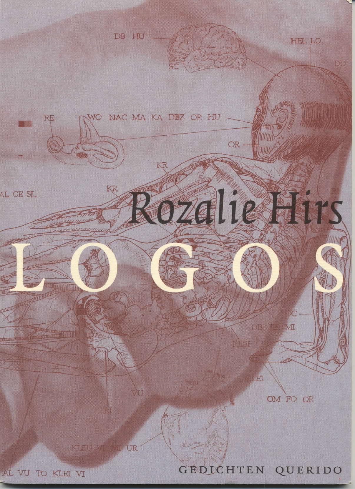 Rozalie Hirs: Logos, 2002 (omslagontwerp: Brigitte Slangen)
