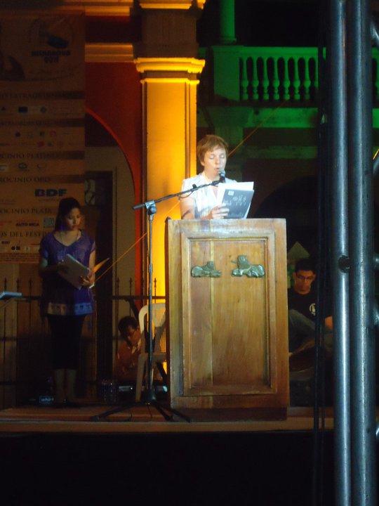 7th international poetry festival, granada, nicaragua