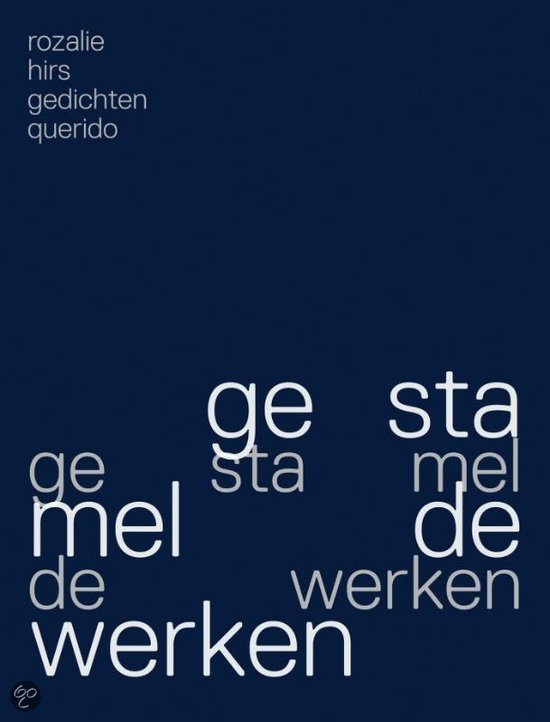 gestamelde werken (work in stuttering, 2012)