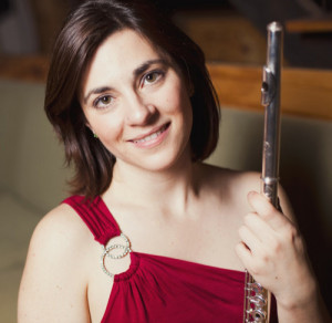Shanna Gutierrez (flute) played the world premiere of article 8 [infinity] (2014) by Rozalie Hirs