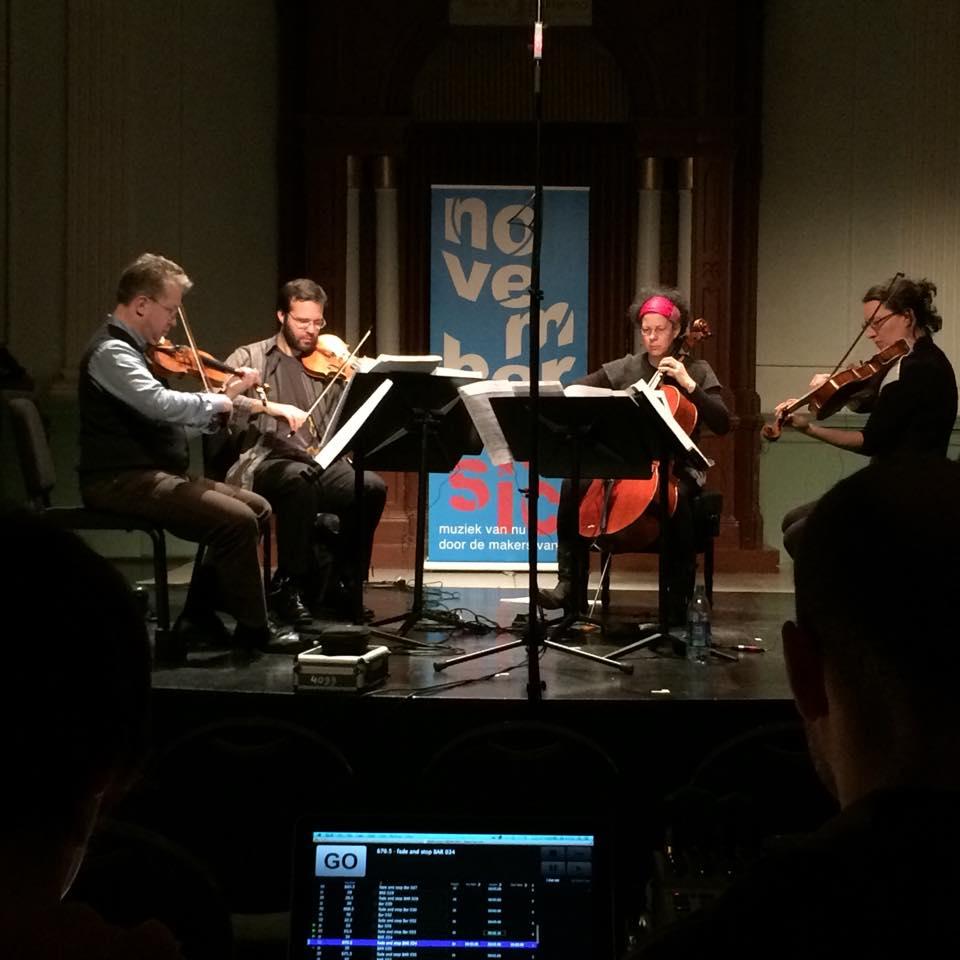 nadir (2014), november music, den bosch – netherlands premiere