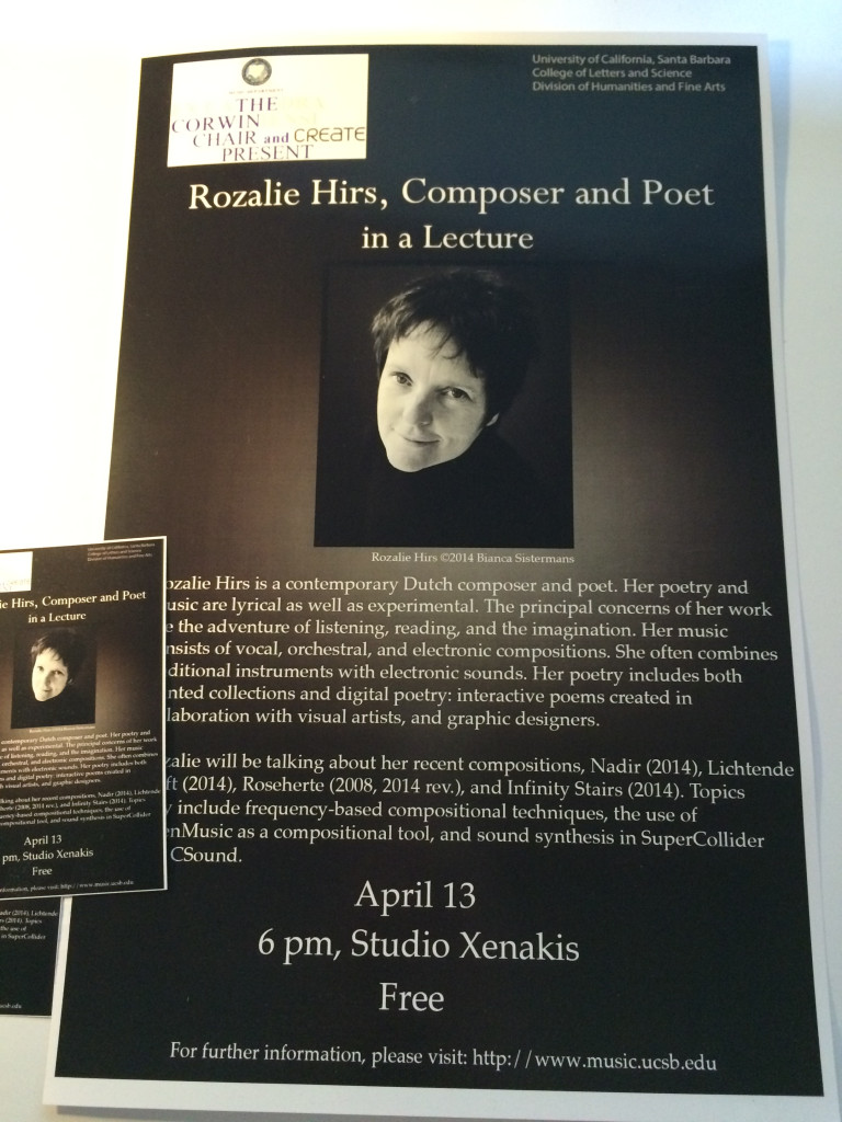 150413-RozalieHirs-lecture-MusicDepartment-UCSB-poster