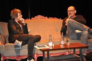 Portrait concert of Rozalie Hirs  at Penhuis and Festival van Vlaanderen, Kortijk, Belgium (host: Alain Demotte)