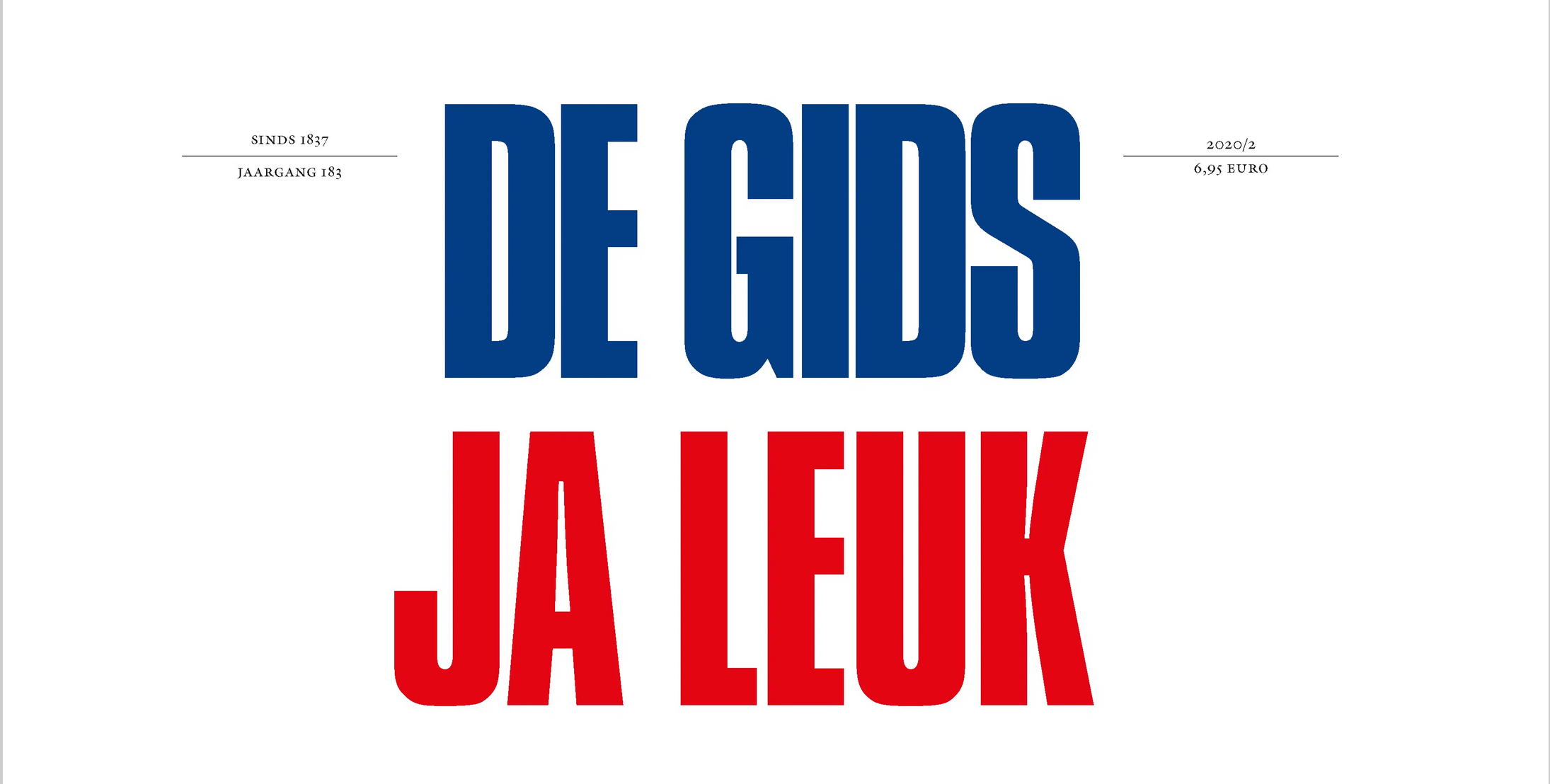 de gids 3/2020, publication
