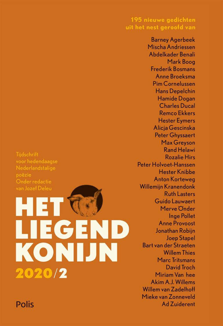 liegend konijn 2020/2 – publication